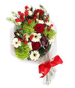 Karisik mevsim buketi çiçek tanzimi  Sakarya online çiçekçi , çiçek siparişi