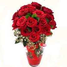 Sakarya kaliteli taze ve ucuz çiçekler   9 adet kirmizi gül