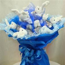 7 adet pelus ayicik buketi  Sakarya hediye sevgilime hediye çiçek
