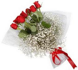 7 adet kirmizimi kirmizi gül buketi  Sakarya çiçek , çiçekçi , çiçekçilik
