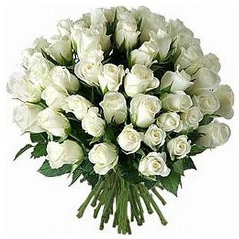 Sakarya hediye çiçek yolla  33 adet beyaz gül buketi