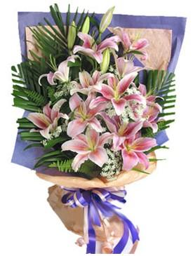 7 dal kazablankadan görsel buket  Sakarya çiçek siparişi sitesi