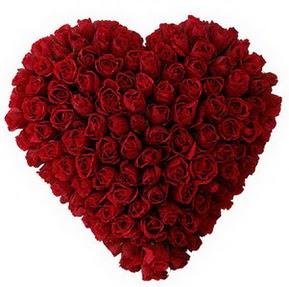 Sakarya çiçek mağazası , çiçekçi adresleri  muhteşem kırmızı güllerden kalp çiçeği