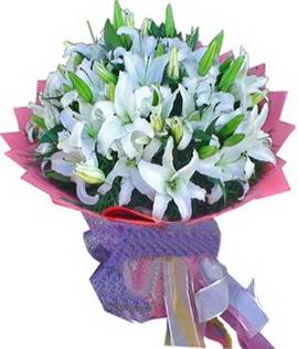 7 dal cazablanca görsel buketi  Sakarya çiçek mağazası , çiçekçi adresleri