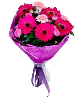 Sakarya kaliteli taze ve ucuz çiçekler  karışık gerbera çiçeği buketi