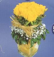 Sakarya çiçek satışı  Cam vazoda 9 Sari gül