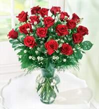 Sakarya güvenli kaliteli hızlı çiçek  9 adet mika yada vazoda kirmizi güller