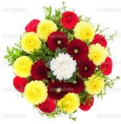 Sakarya çiçek mağazası , çiçekçi adresleri  13 adet mevsim çiçeğinden görsel buket