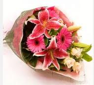 1 dal kazablanka ve mevsim çiçekleri  Sakarya online çiçekçi , çiçek siparişi