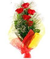 5 li kırmızı gül buketi  Sakarya güvenli kaliteli hızlı çiçek