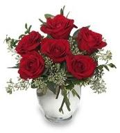 Vazo içerisinde 5 adet kırmızı gül  Sakarya çiçek mağazası , çiçekçi adresleri