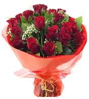 12 adet görsel bir buket tanzimi  Sakarya çiçek yolla , çiçek gönder , çiçekçi