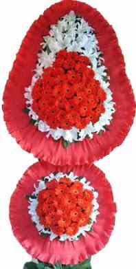 Sakarya İnternetten çiçek siparişi  Çift katlı kaliteli düğün açılış sepeti