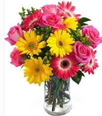 Vazoda Karışık mevsim çiçeği  Sakarya çiçek mağazası , çiçekçi adresleri