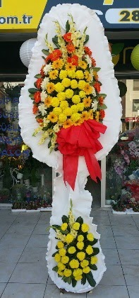 Çift katlı düğün nikah açılış çiçeği  Sakarya internetten çiçek satışı