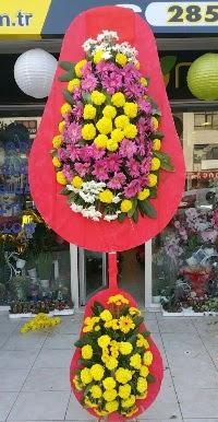 Çift katlı düğün nikah açılış çiçek modeli  Sakarya İnternetten çiçek siparişi