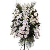 Sakarya çiçek gönderme sitemiz güvenlidir  Ferforje beyaz renkli kazablanka