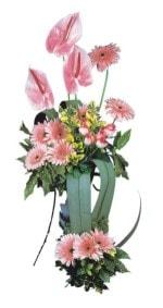 Sakarya internetten çiçek satışı  Pembe Antoryum Harikalar Rüyasi