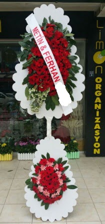 Çift katlı düğün nikah çiçeği modeli  Sakarya kaliteli taze ve ucuz çiçekler