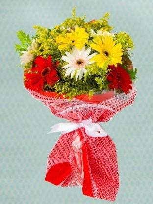 Karışık Gelbera Buketi  Sakarya kaliteli taze ve ucuz çiçekler