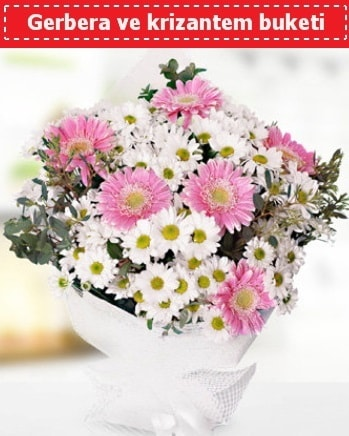Papatya ve Gerbera Buketi  Sakarya hediye sevgilime hediye çiçek