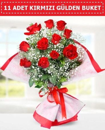 11 Adet Kırmızı Gül Buketi  Sakarya online çiçekçi , çiçek siparişi