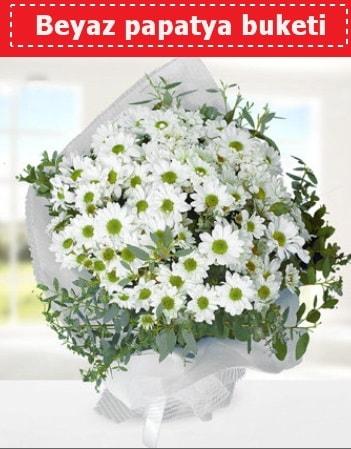 Beyaz Papatya Buketi  Sakarya çiçekçi telefonları